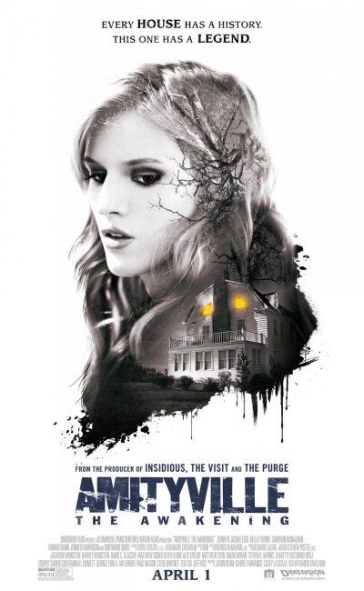 Amityville: El despertar (Amityville: The Awakening) es una película de terror en donde, Belle, su hermana pequeña y su comatoso hermano gemelo se mudan a una nueva casa junto a su madre soltera Joan para ahorrar dinero y así pagar el carísimo tratamiento de su hermano.