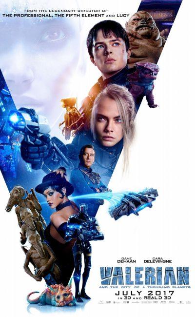Valerian (Dane DeHaan) y Laureline (Cara Delevingne) son agentes especiales del gobierno de los territorios humanos, encargados de mantener el orden en todo el universo.