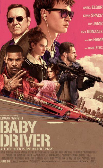 """Baby: El Aprendiz del Crimen (Baby Driver): """"Es un buen chico, y un diablo al volante"""". Ese es Baby (Ansel Elgort), un conductor de cara inocente que lleva a criminales del punto A al punto B, con aire temerario y una banda sonora propia en su cabeza."""